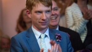Domhnall Gleeson (Tim) in About Time