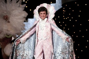 Michael Douglas (Liberace) in Behind the Candelabra