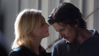 Cate Blanchett en Christian Bale in Knight of Cups