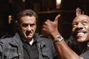 Robert De Niro en Eddie Murphy in Showtime