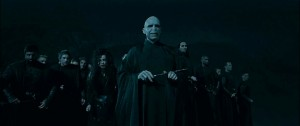 Ralph Fiennes (Lord Voldemort) in Harry Potter and the Deathly Hallows: Part I