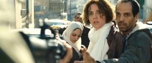 Yousef 'Joe' Sweid (Faysal) en Evelyne Brochu (Chloé) in Inch'Allah