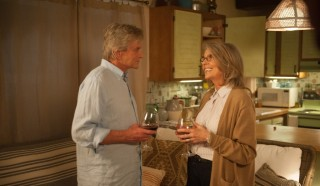 Michael Douglas en Diane Keaton in And So It Goes
