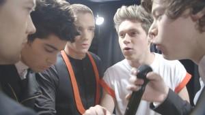 Niall Horan (Zichzelf), Zayn Malik (Zichzelf), Liam Payne (Zichzelf), Harry Styles (Zichzelf) en Louis Tomlinson (Zichzelf) in One Direction: This Is Us