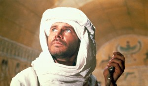 Harrison Ford (Indiana Jones) in Raiders of the Lost Ark