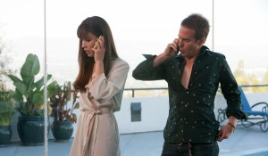 Olga Kurylenko en Sam Rockwell (Billy) in Seven Psychopaths