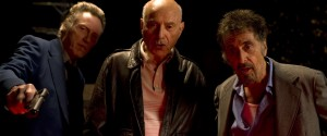 Christopher Walken, Alan Arkin en Al Pacino in Stand Up Guys