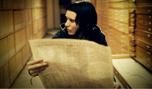 Rooney Mara (Lisbeth Salander) in The Girl with the Dragon Tattoo