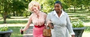 Jessica Chastain (Celia Foote) en Octavia Spencer (Minny Jackson) in The Help