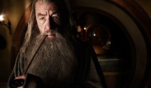 Ian McKellen (Gandalf) in The Hobbit: An Unexpected Journey