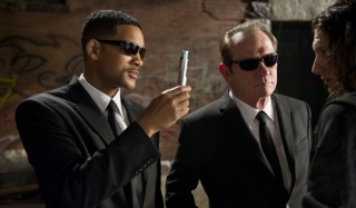 Will Smith en Tommy Lee Jones in Men in Black III