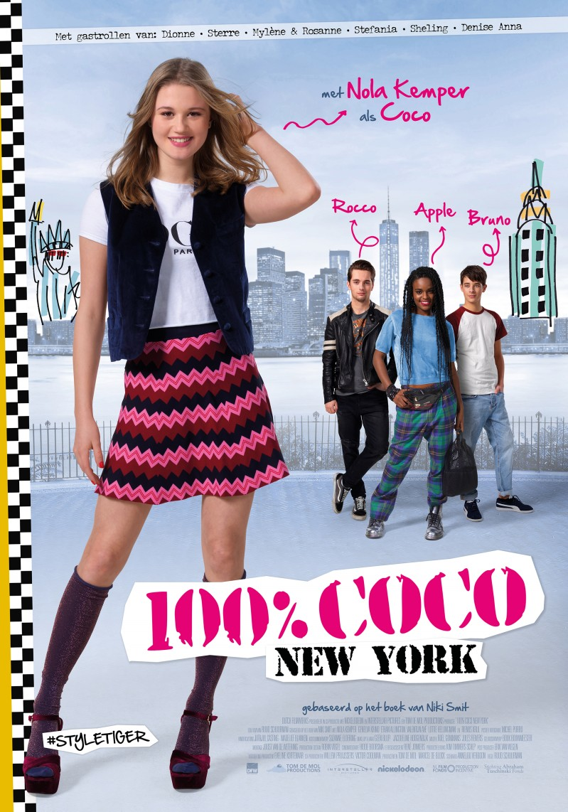 De poster van 100% Coco New York
