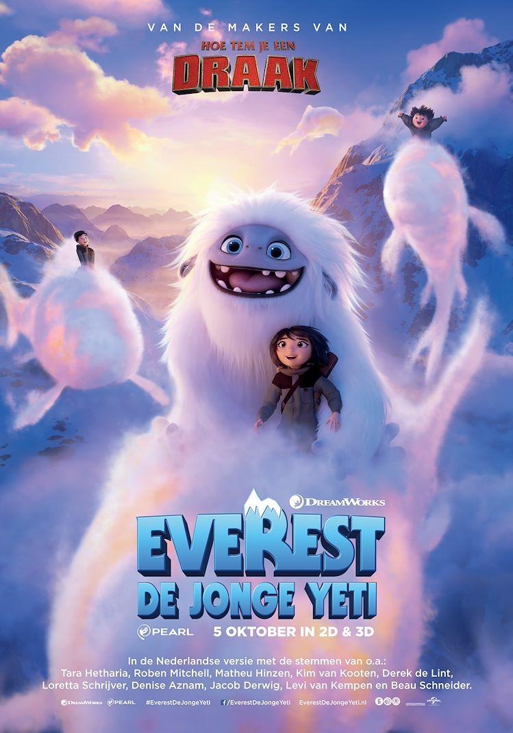 De poster van Abominable
