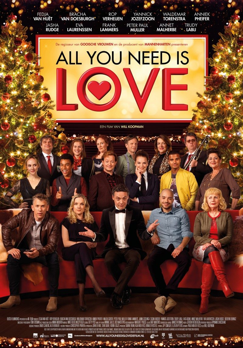 De poster van All You Need Is Love