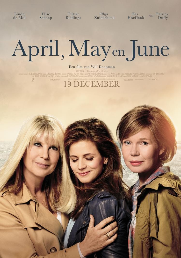 De poster van April, May en June