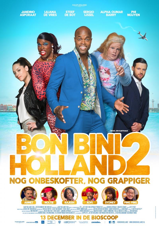De poster van Bon Bini Holland 2