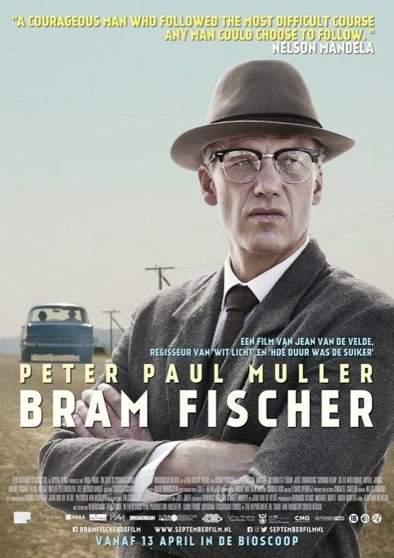 De poster van Bram Fischer