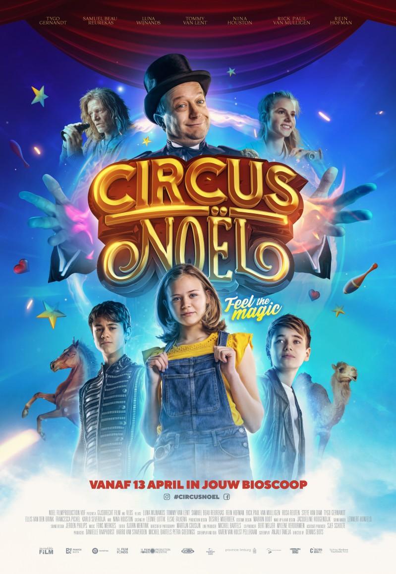 De poster van Circus Noël