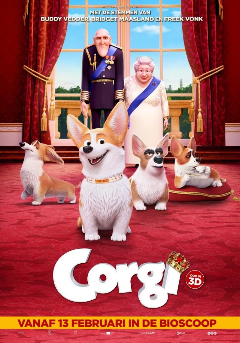 De poster van Corgi