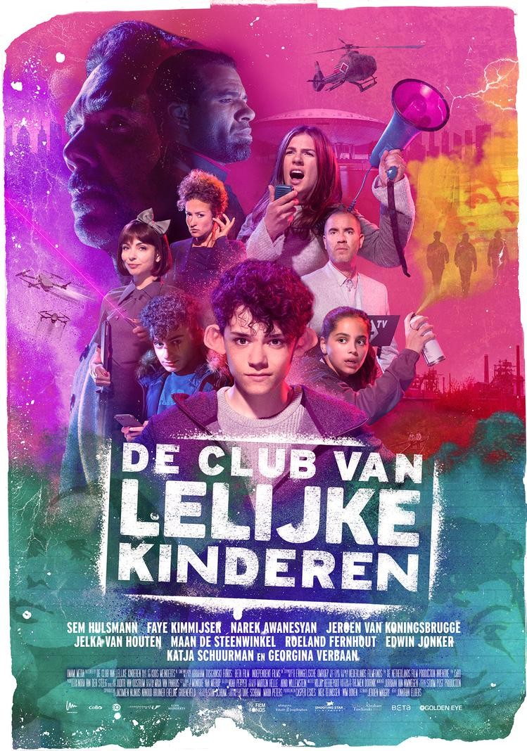 De poster van De Club van Lelijke Kinderen
