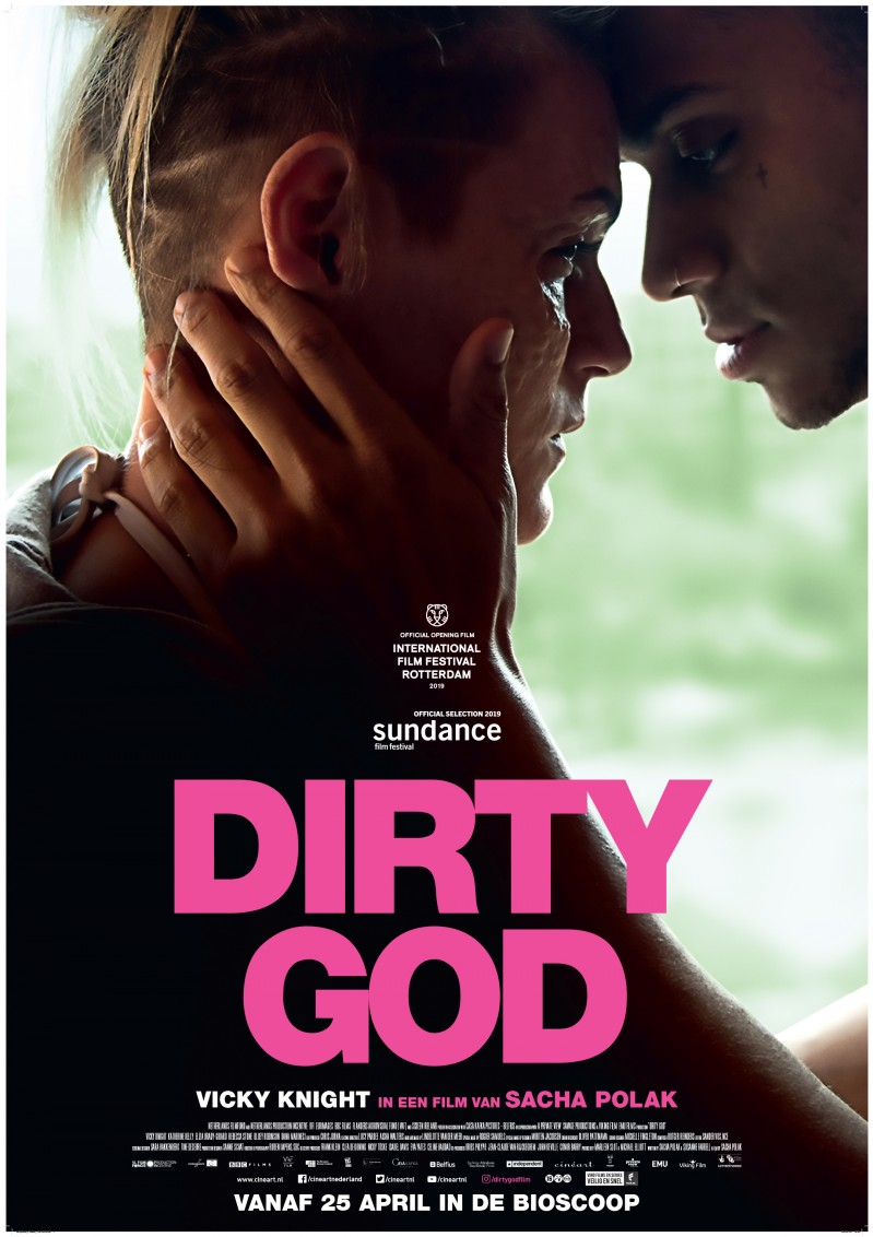 De poster van Dirty God
