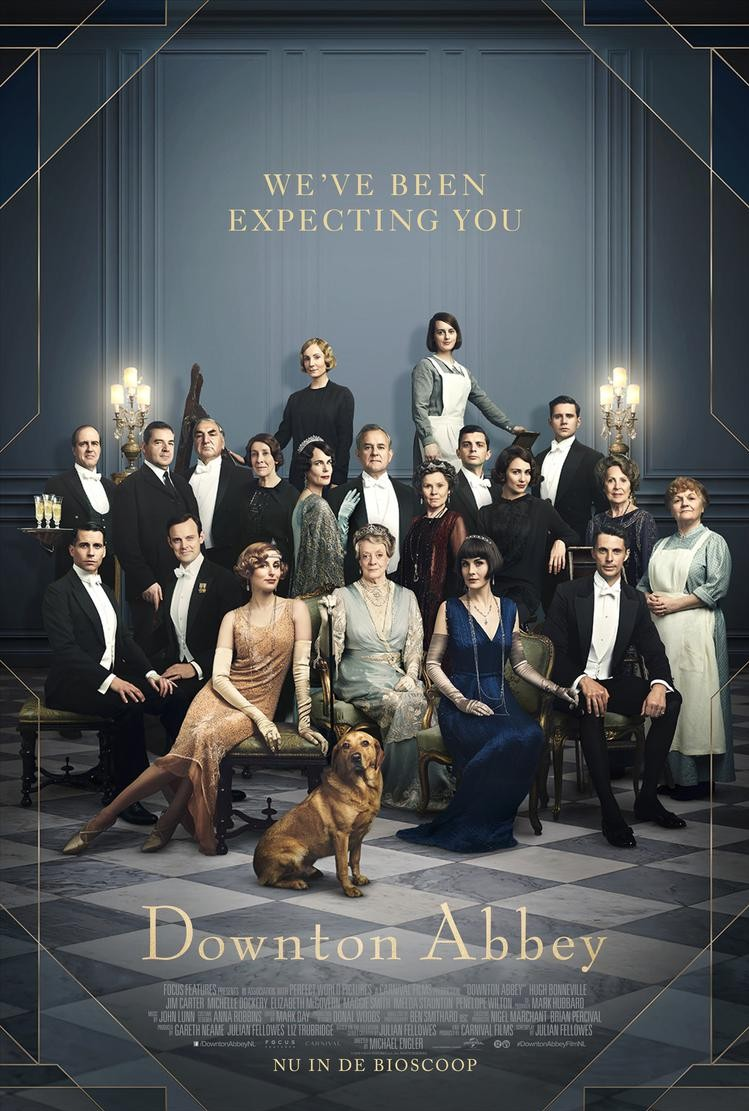 De poster van Downton Abbey