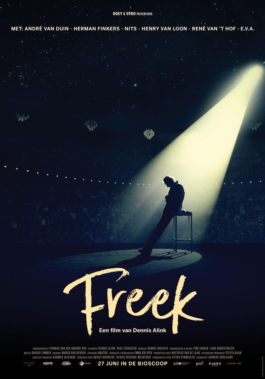 De poster van Freek