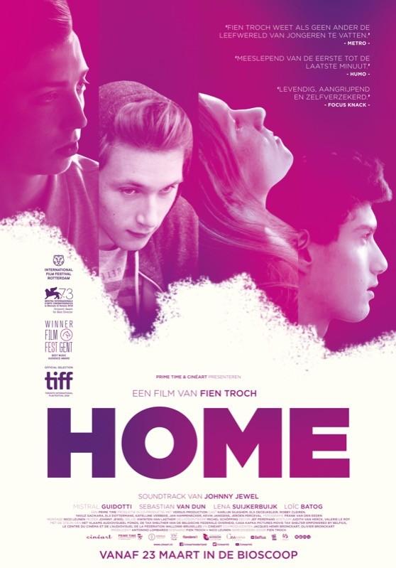 De poster van Home