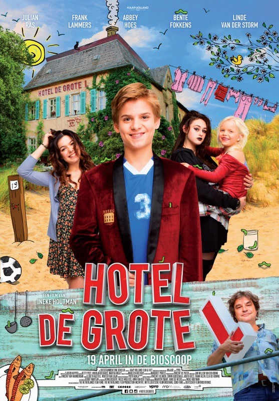 De poster van Hotel de grote L