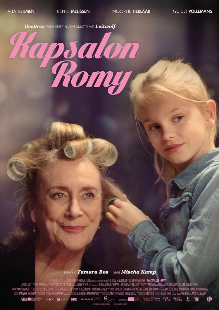 De poster van Kapsalon Romy