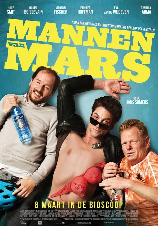 De poster van Mannen van Mars