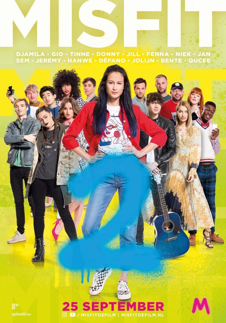 De poster van Misfit 2