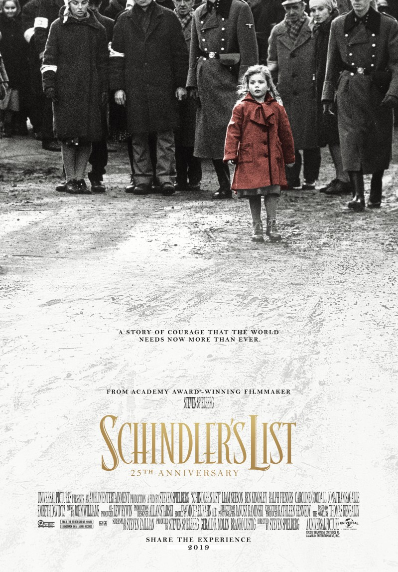 De poster van Schindler's List