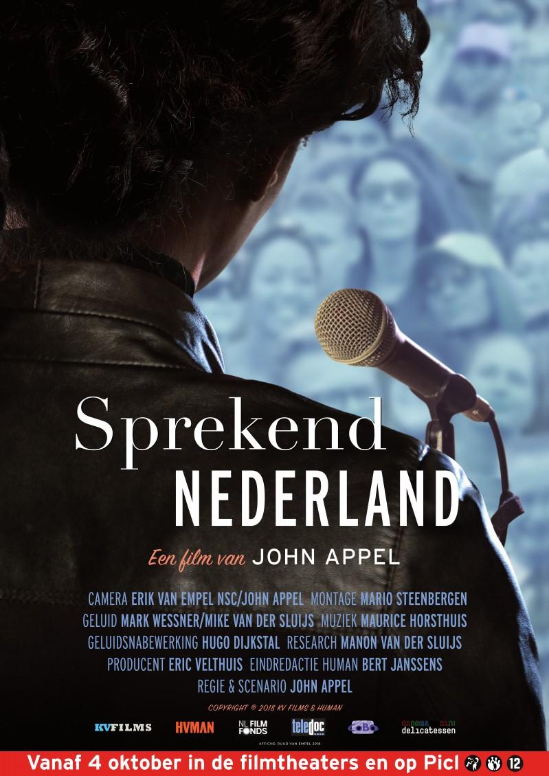 De poster van Sprekend Nederland
