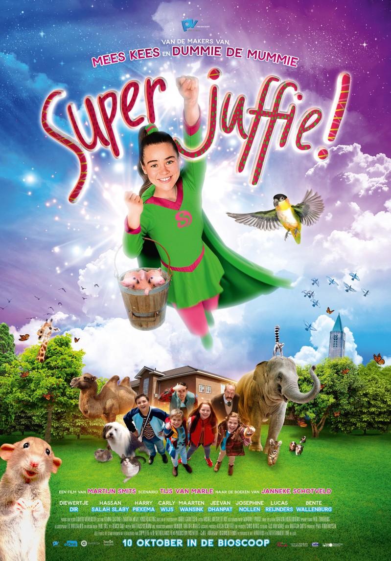 De poster van Superjuffie