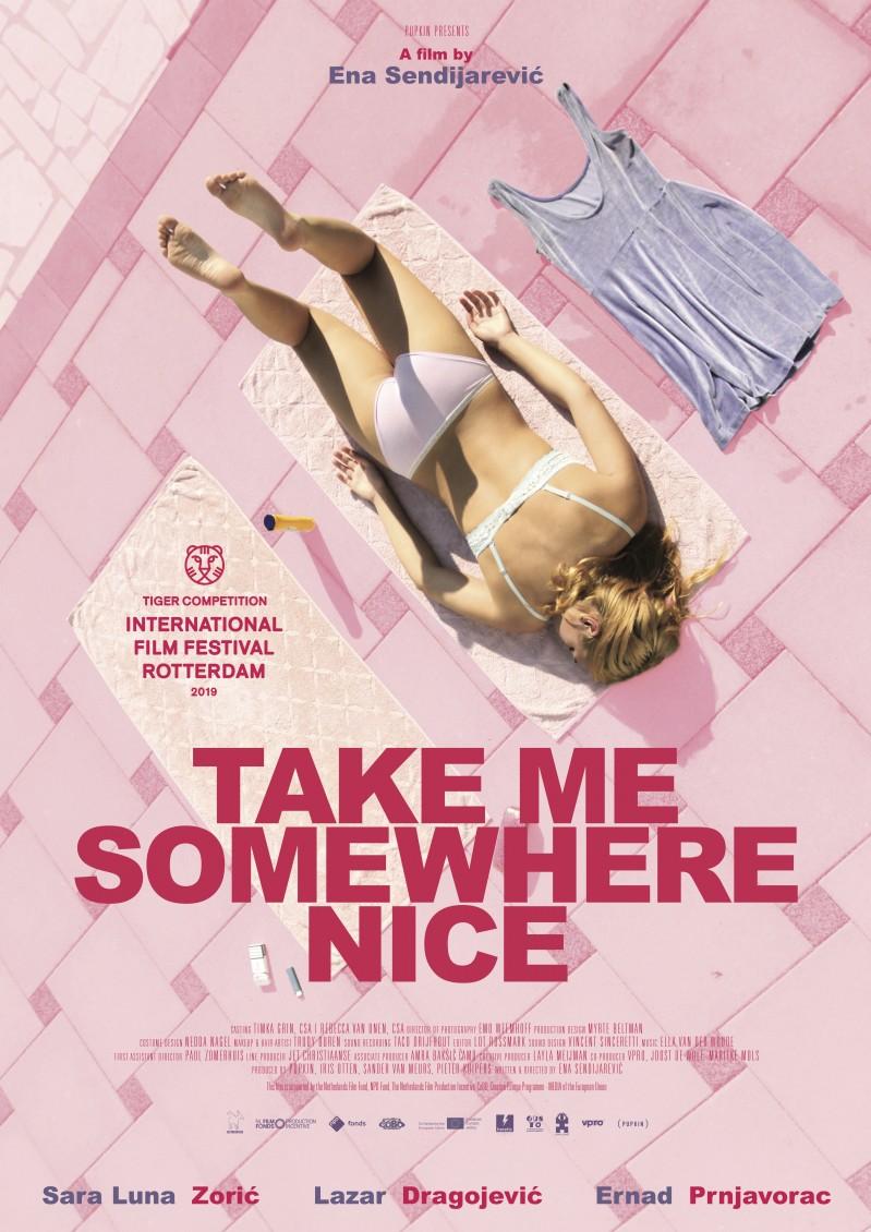 De poster van Take Me Somewhere Nice