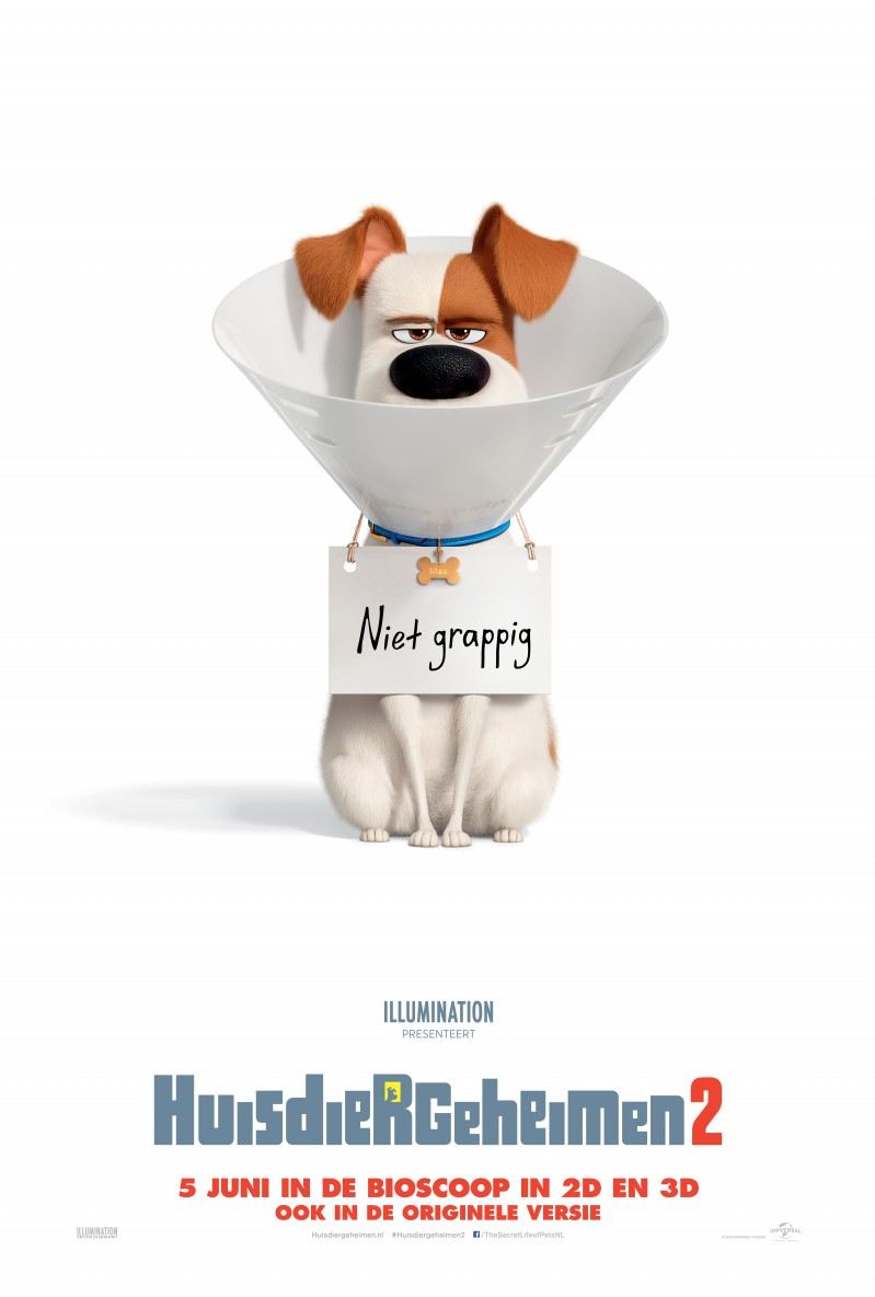 De poster van The Secret Life of Pets 2