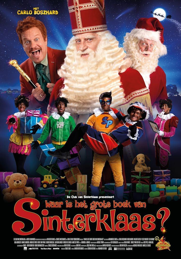 De poster van Waar is het Grote Boek van Sinterklaas?