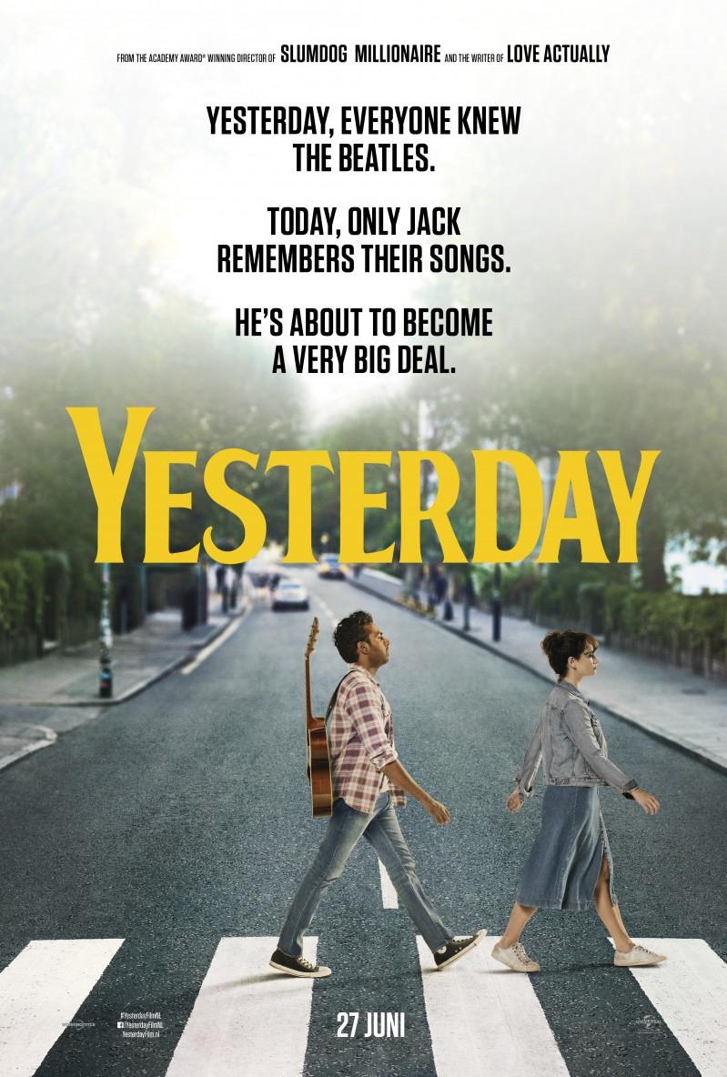 De poster van Yesterday