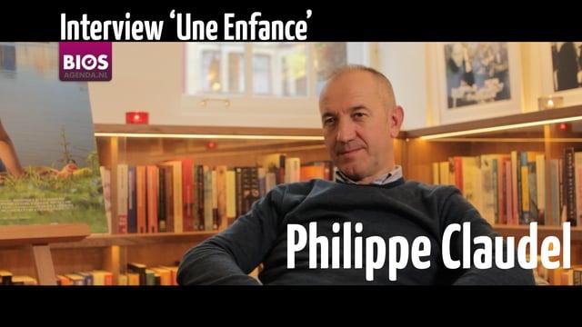 Interview Philippe Claudel over 'Une Enfance', 14-10-2015