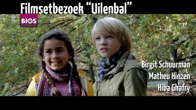 Op bezoek bij de film Uilenbal, 13-10-2016