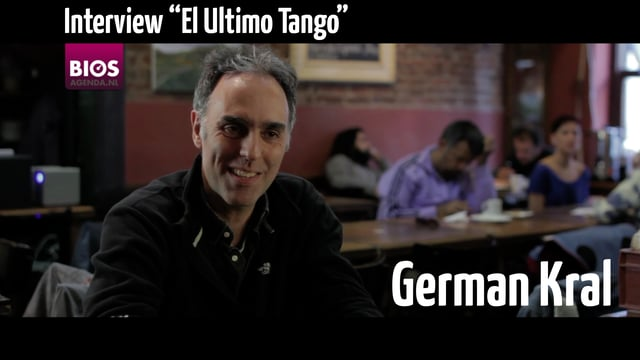 Interview met German Kral over Ultimo Tango, 8-11-2016