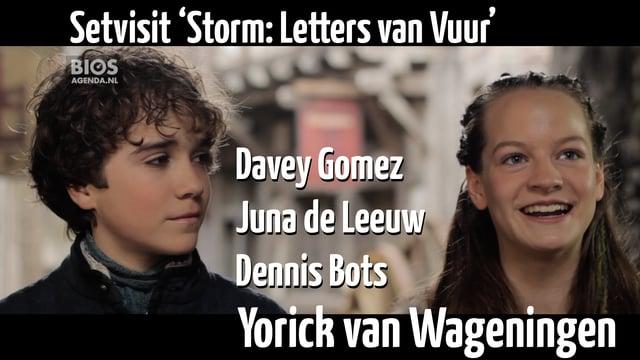 Op de set van Storm: Letters van Vuur, 19-1-2017