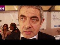 Rowan Atkinson op de rode loper, 5-10-2011