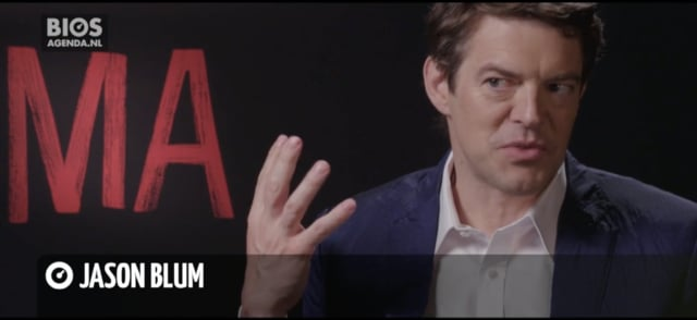Interview Jason Blum over MA, 5-6-2019