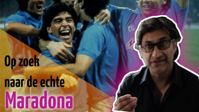 Interview met de regisseur van Diego Maradona, 10-8-2019