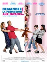 Poster Demandez la permission aux enfants