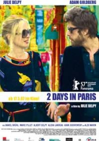 poster '2 days in Paris'.