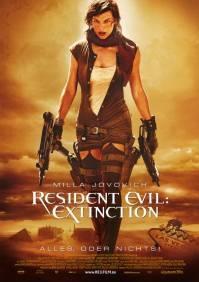 Duitse poster Resident Evil: Extinction (c) Constantin Film