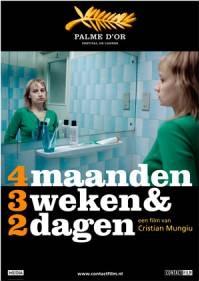Poster 4 maanden, 3 weken & 2 dagen (c) Contact Film